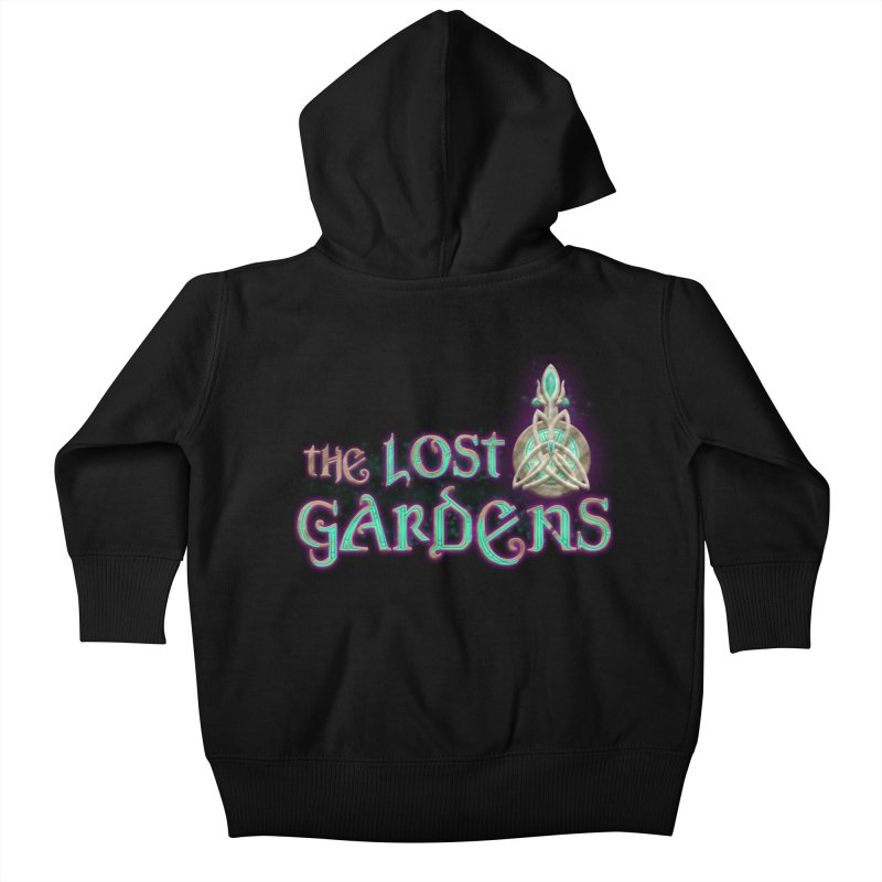 The Lost Gardens Kids Baby Zip-Up Hoody by The Lost Gardens Official Merch