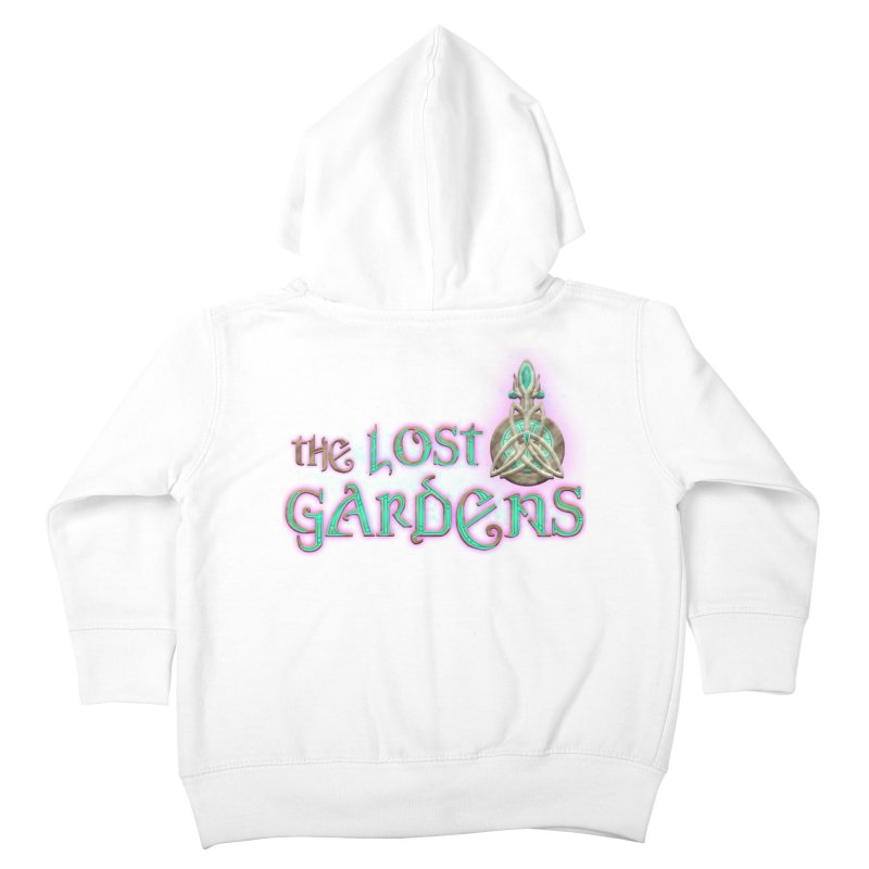 The Lost Gardens Kids Toddler Zip-Up Hoody by The Lost Gardens Official Merch