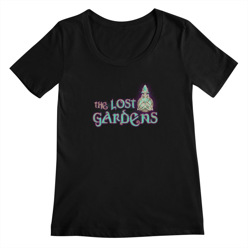 The Lost Gardens Women's Scoopneck by The Lost Gardens Official Merch