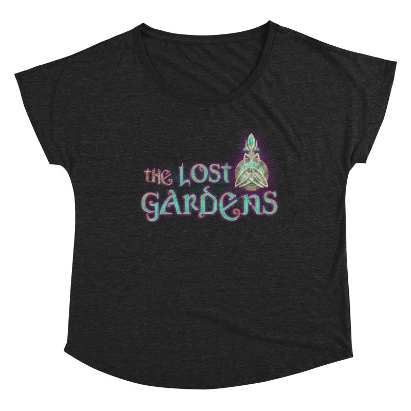 The Lost Gardens Women's Scoop Neck by The Lost Gardens Official Merch