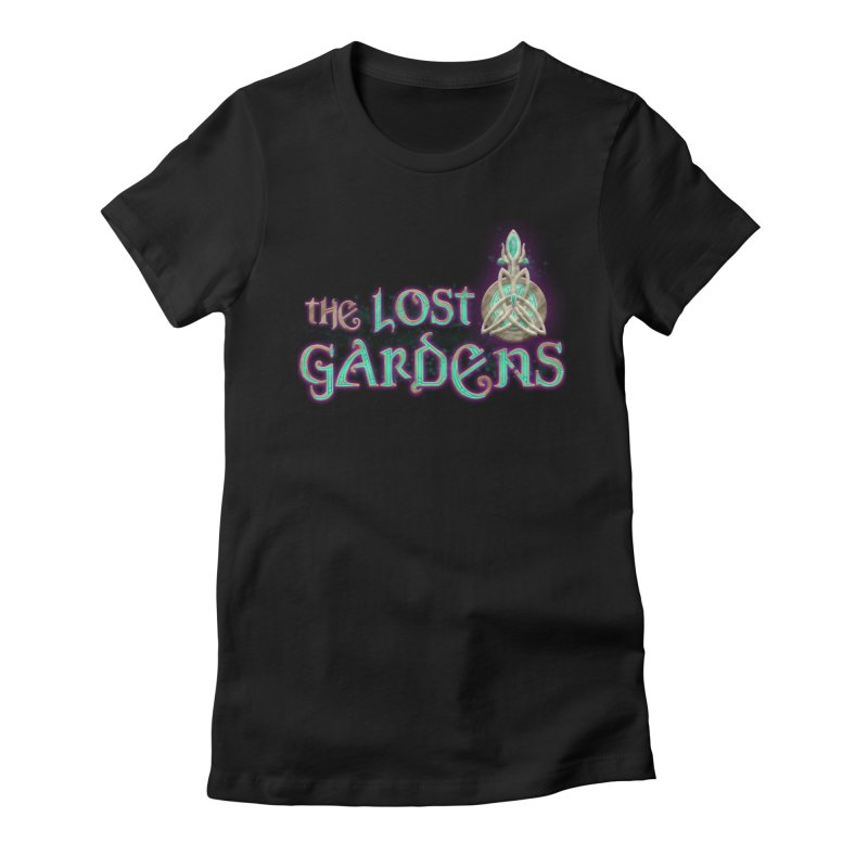 The Lost Gardens Women's Fitted T-Shirt by The Lost Gardens Official Merch