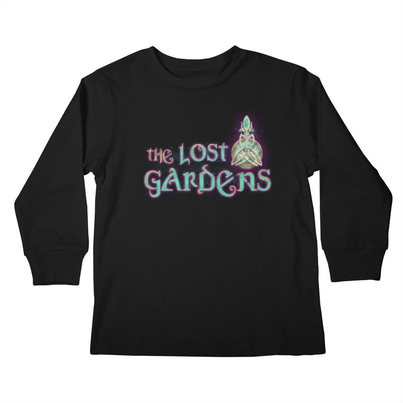 The Lost Gardens Kids Longsleeve T-Shirt by The Lost Gardens Official Merch