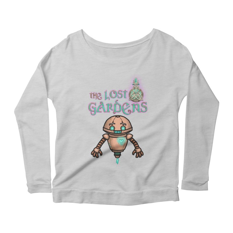 The Companion Women's Longsleeve Scoopneck  by The Lost Gardens Official Merch