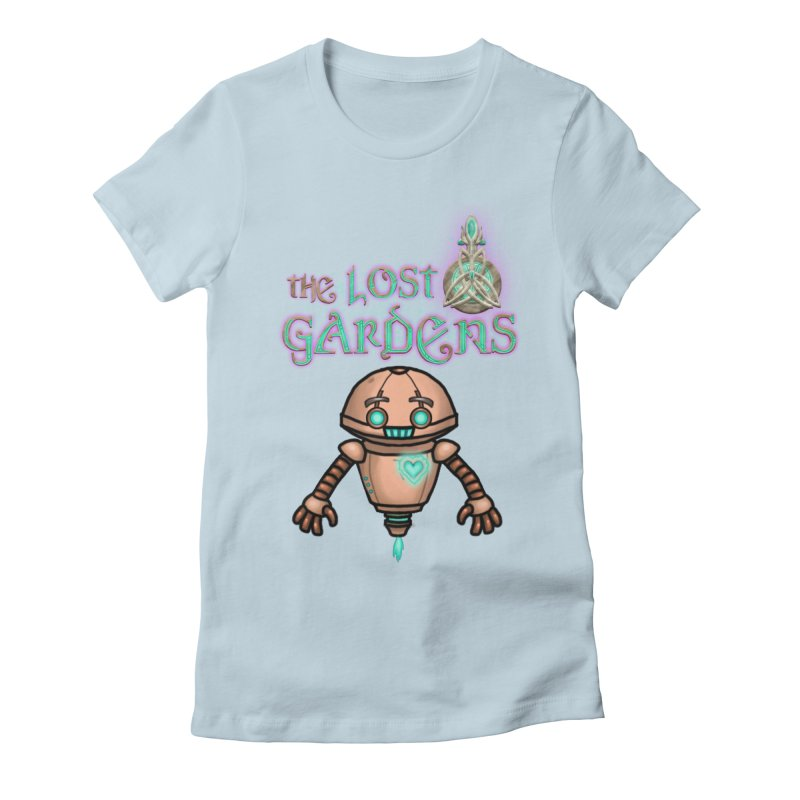 The Companion Women's Fitted T-Shirt by The Lost Gardens Official Merch