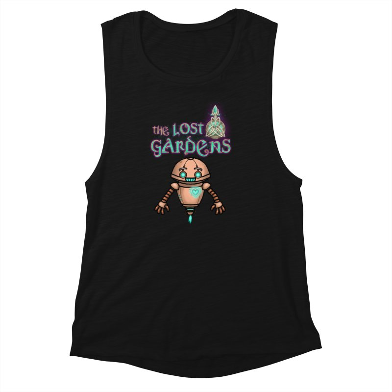The Companion Women's Muscle Tank by The Lost Gardens Official Merch
