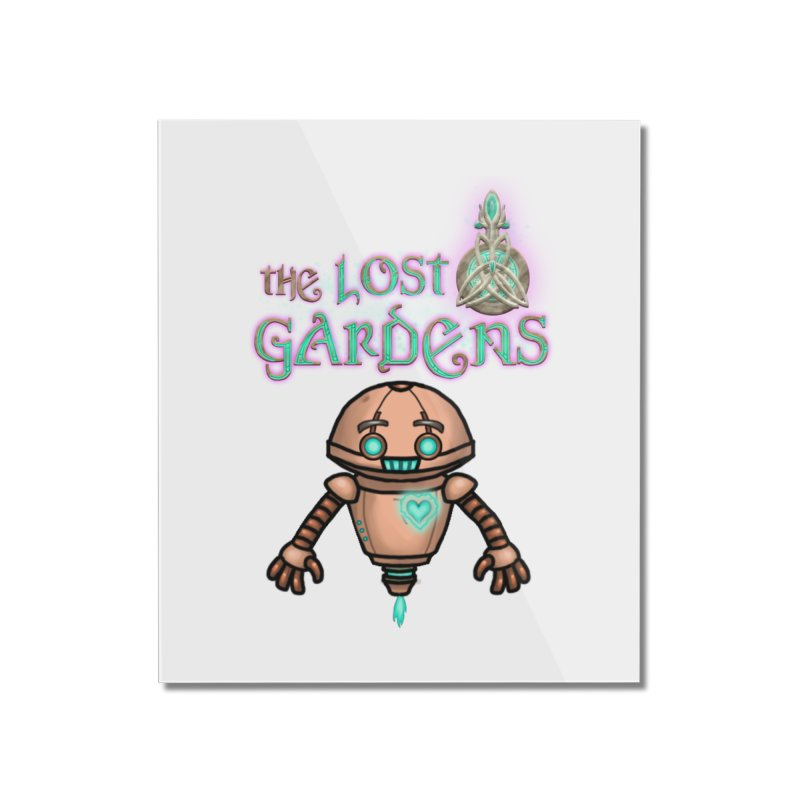 The Companion Home Mounted Acrylic Print by The Lost Gardens Official Merch