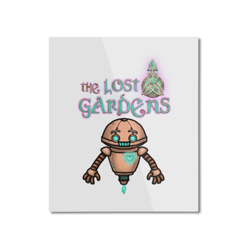 The Companion Home Mounted Aluminum Print by The Lost Gardens Official Merch