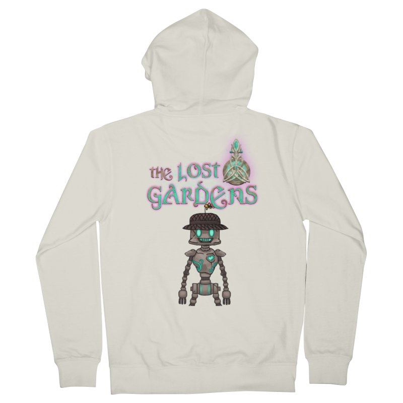 The Caretaker Men's Zip-Up Hoody by The Lost Gardens Official Merch