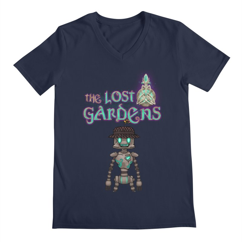 The Caretaker Men's V-Neck by The Lost Gardens Official Merch