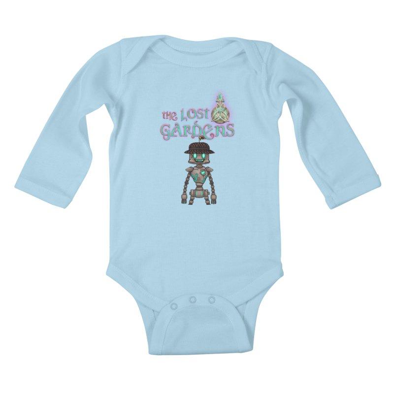 The Caretaker Kids Baby Longsleeve Bodysuit by The Lost Gardens Official Merch