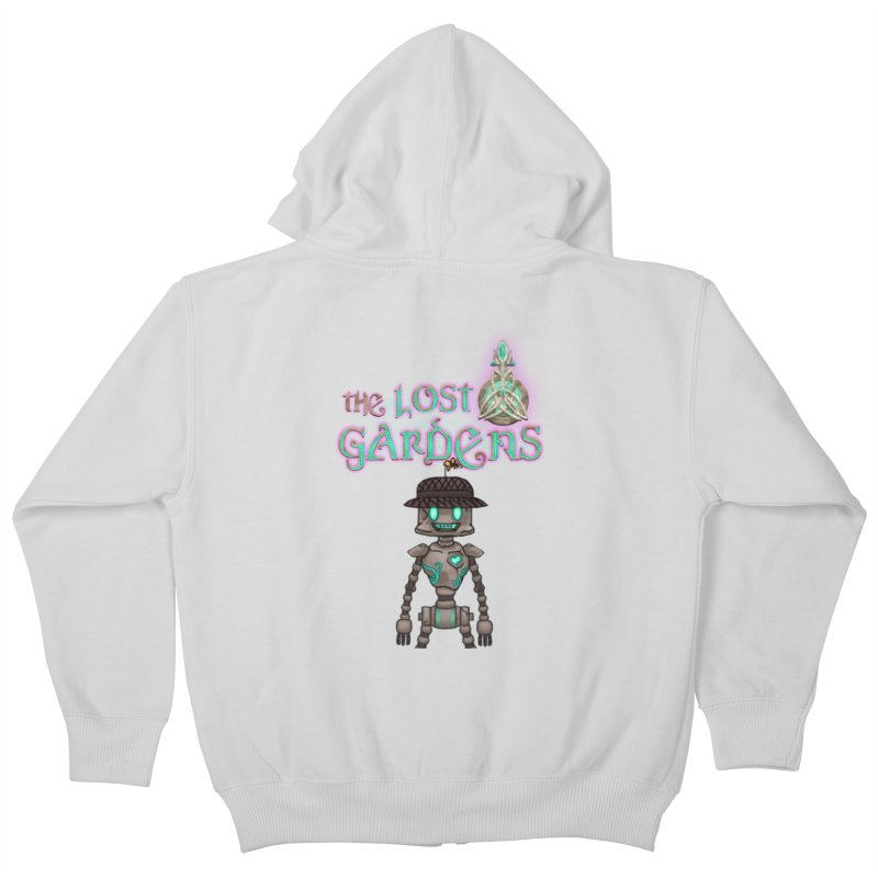 The Caretaker Kids Zip-Up Hoody by The Lost Gardens Official Merch
