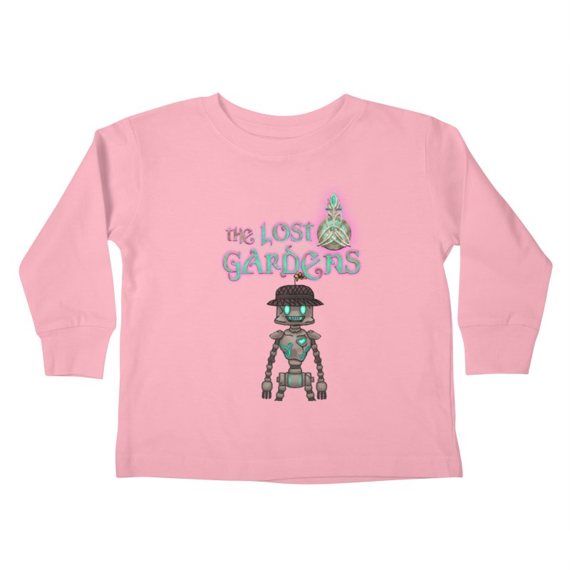 The Caretaker Kids Toddler Longsleeve T-Shirt by The Lost Gardens Official Merch