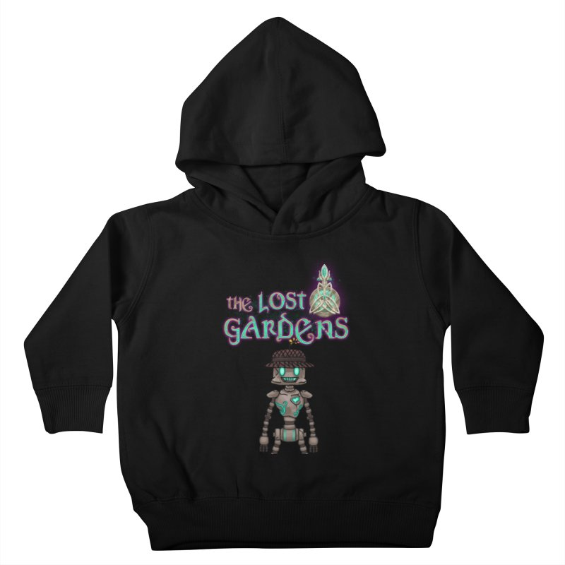 The Caretaker Kids Toddler Pullover Hoody by The Lost Gardens Official Merch