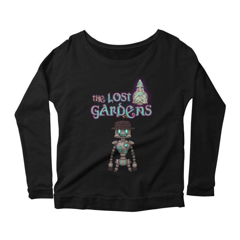 The Caretaker Women's Longsleeve Scoopneck  by The Lost Gardens Official Merch