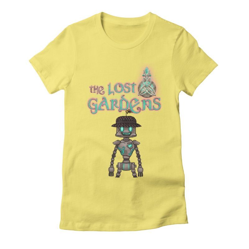 The Caretaker Women's Fitted T-Shirt by The Lost Gardens Official Merch