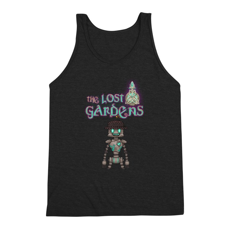 The Caretaker Men's Triblend Tank by The Lost Gardens Official Merch