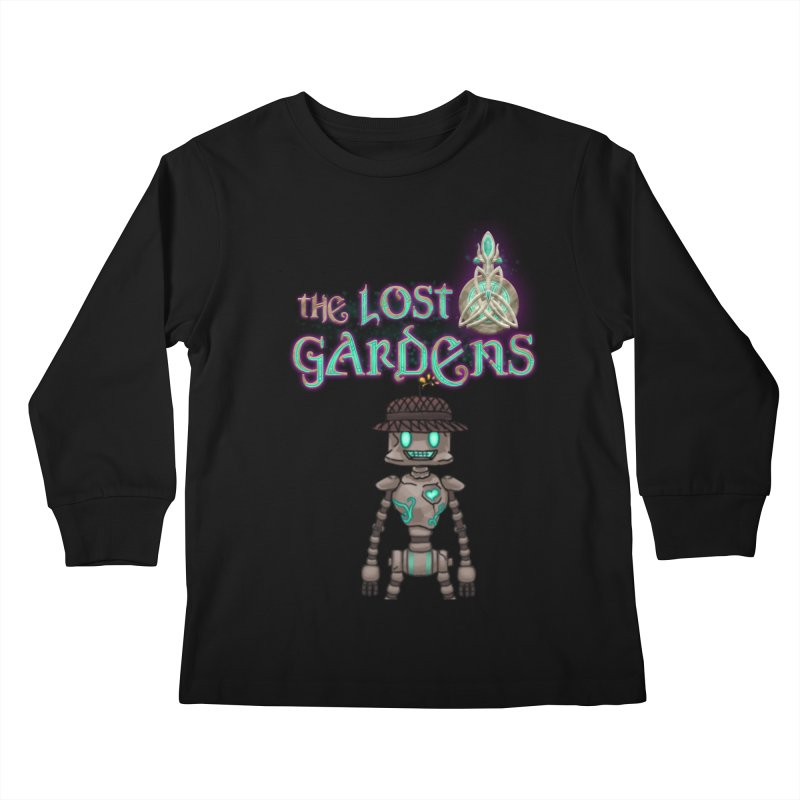 The Caretaker Kids Longsleeve T-Shirt by The Lost Gardens Official Merch