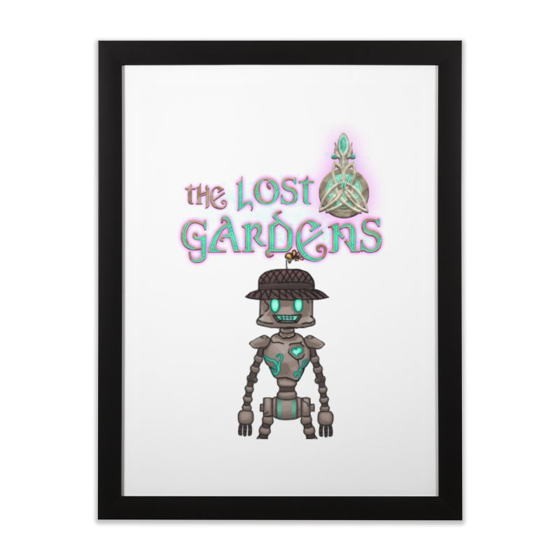 The Caretaker Home Framed Fine Art Print by The Lost Gardens Official Merch