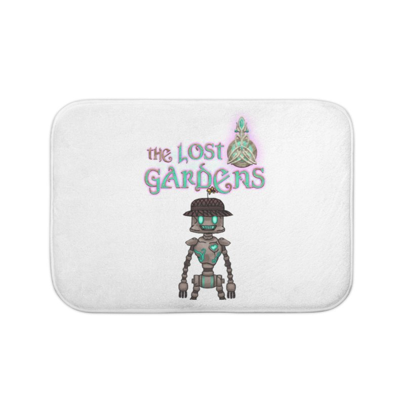 The Caretaker Home Bath Mat by The Lost Gardens Official Merch