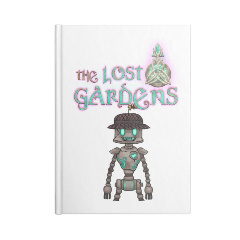 The Caretaker Accessories Notebook by The Lost Gardens Official Merch