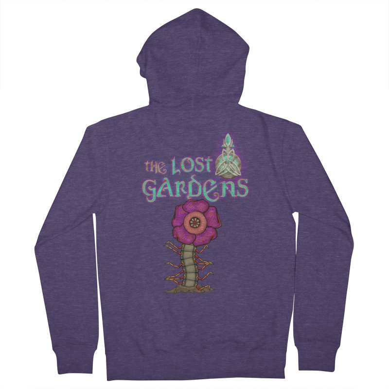 Raffelsipede Men's Zip-Up Hoody by The Lost Gardens Official Merch