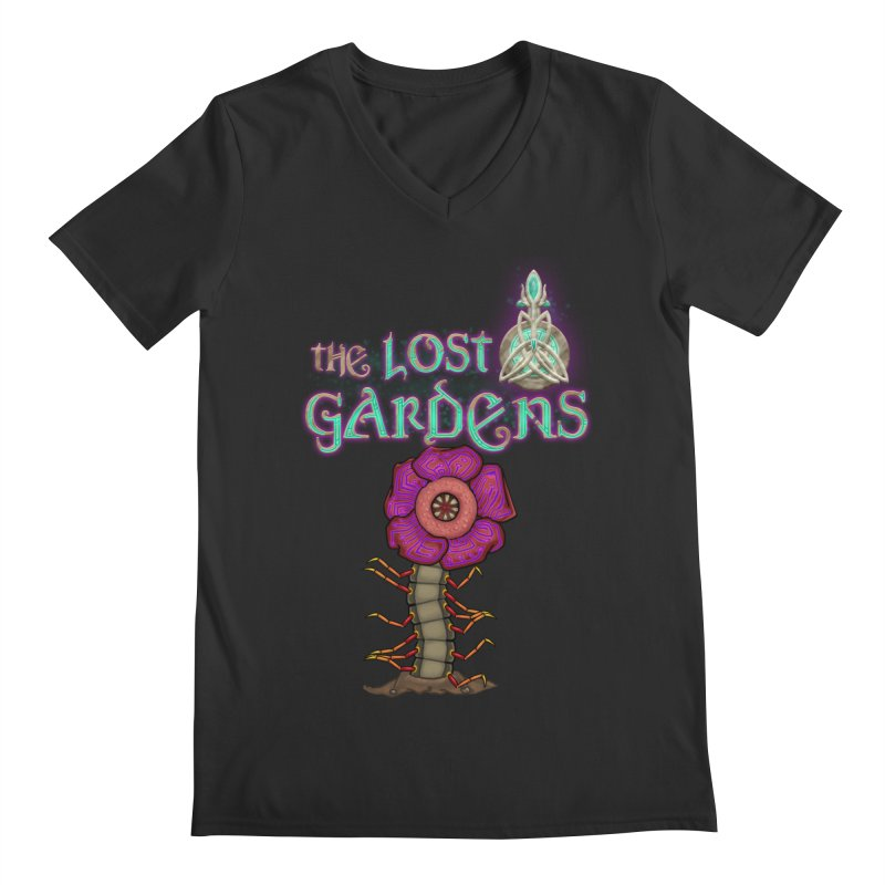 Raffelsipede Men's V-Neck by The Lost Gardens Official Merch