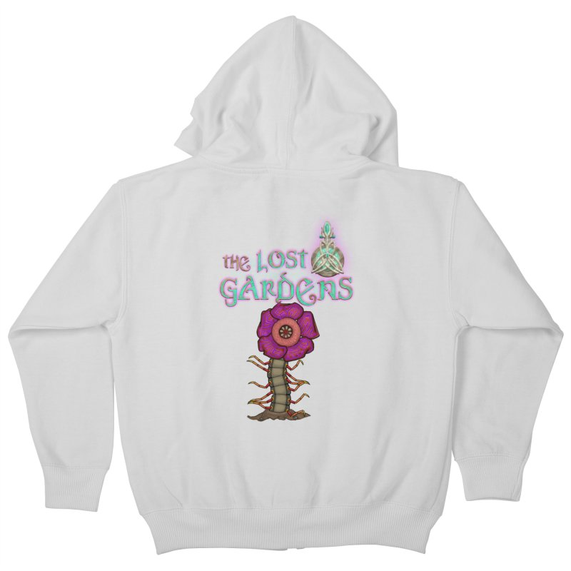 Raffelsipede Kids Zip-Up Hoody by The Lost Gardens Official Merch