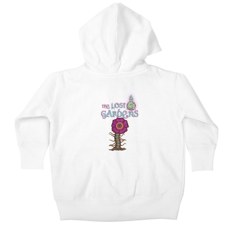 Raffelsipede Kids Baby Zip-Up Hoody by The Lost Gardens Official Merch