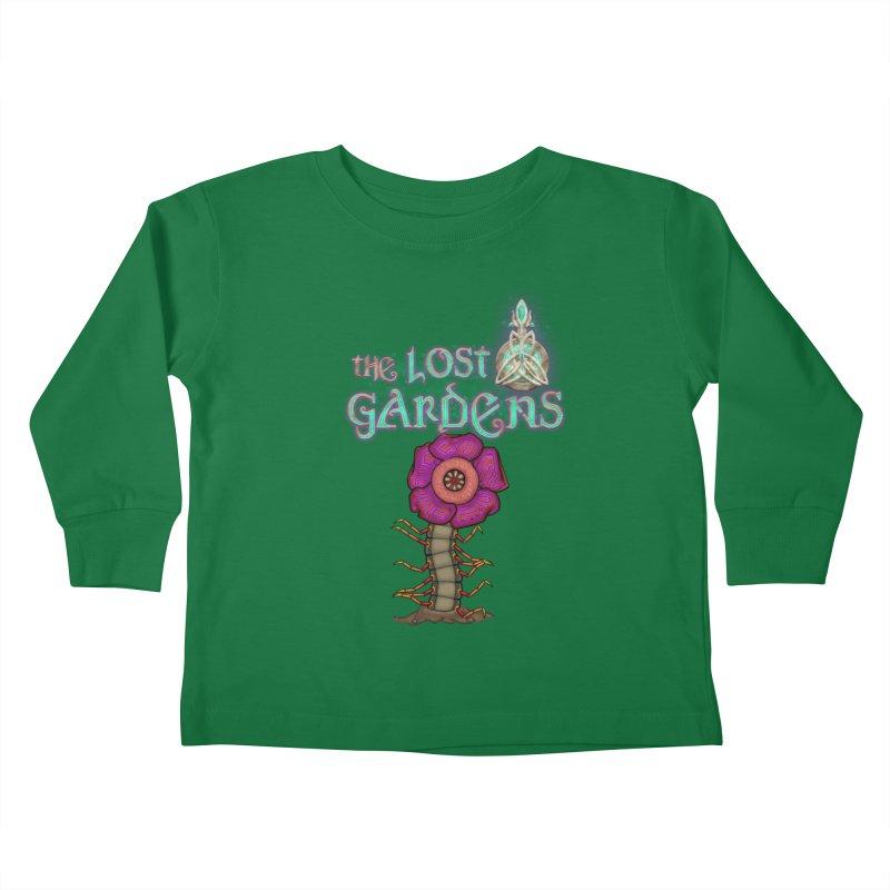 Raffelsipede Kids Toddler Longsleeve T-Shirt by The Lost Gardens Official Merch