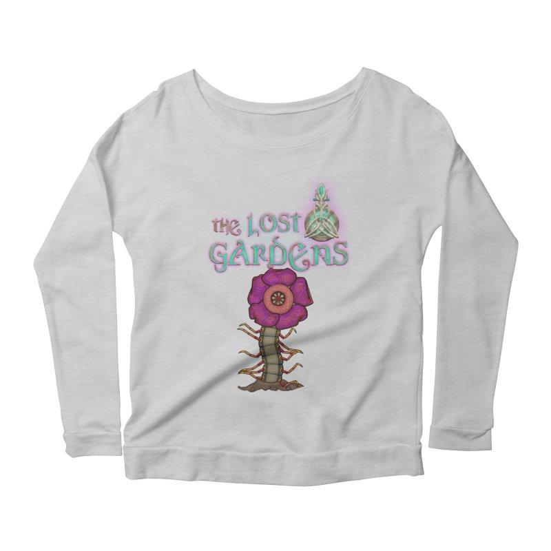 Raffelsipede Women's Longsleeve Scoopneck  by The Lost Gardens Official Merch