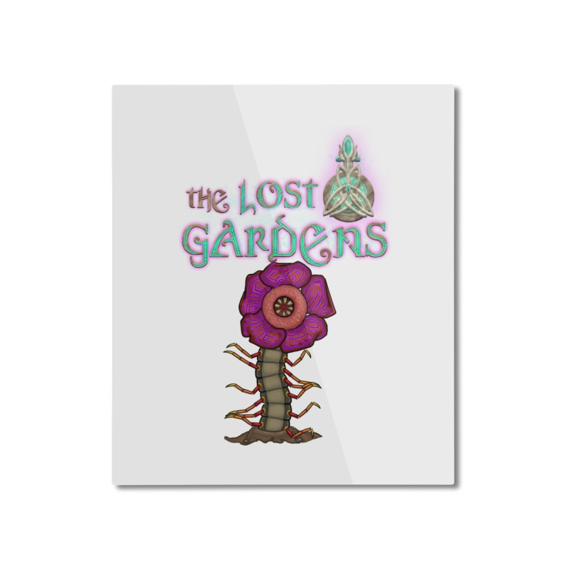 Raffelsipede Home Mounted Aluminum Print by The Lost Gardens Official Merch