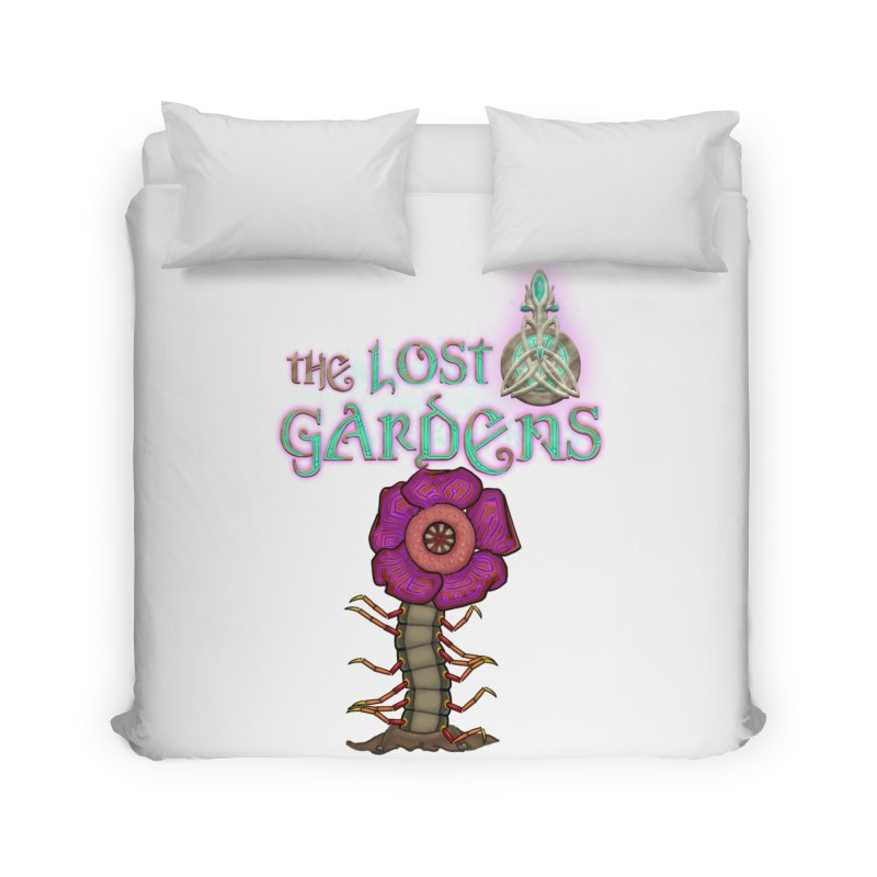 Raffelsipede Home Duvet by The Lost Gardens Official Merch