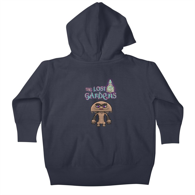 Mion Kids Baby Zip-Up Hoody by The Lost Gardens Official Merch