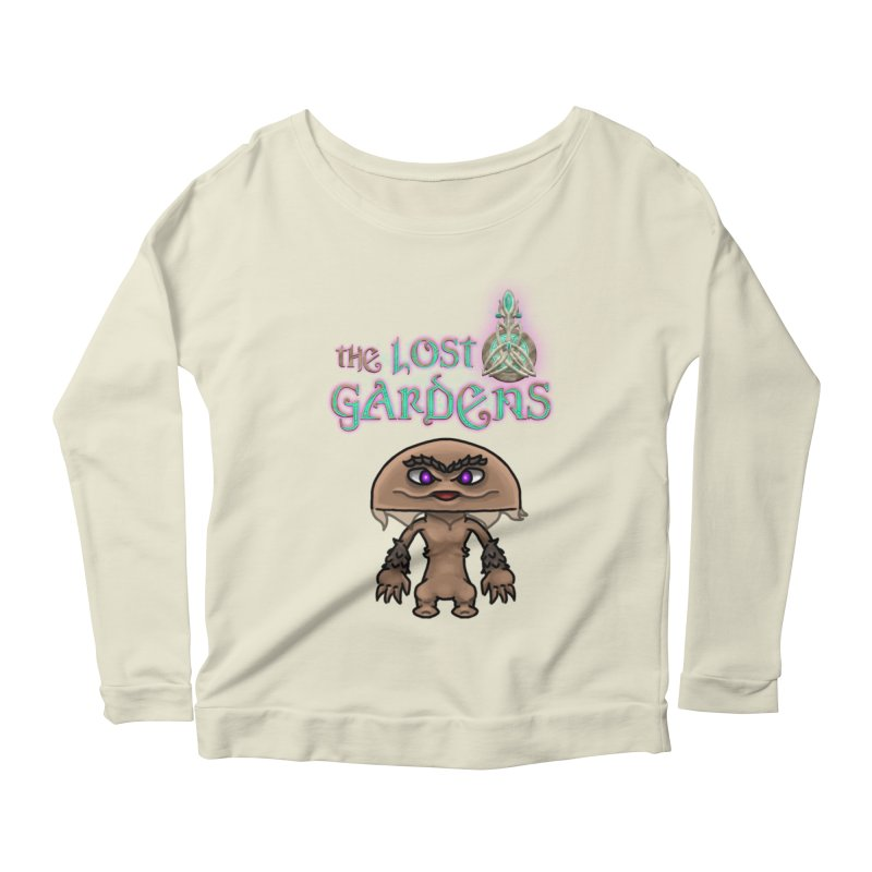 Mion Women's Longsleeve Scoopneck  by The Lost Gardens Official Merch