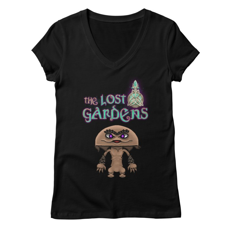 Mion Women's V-Neck by The Lost Gardens Official Merch