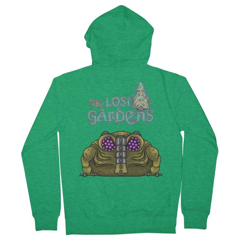 Bernard Women's Zip-Up Hoody by The Lost Gardens Official Merch