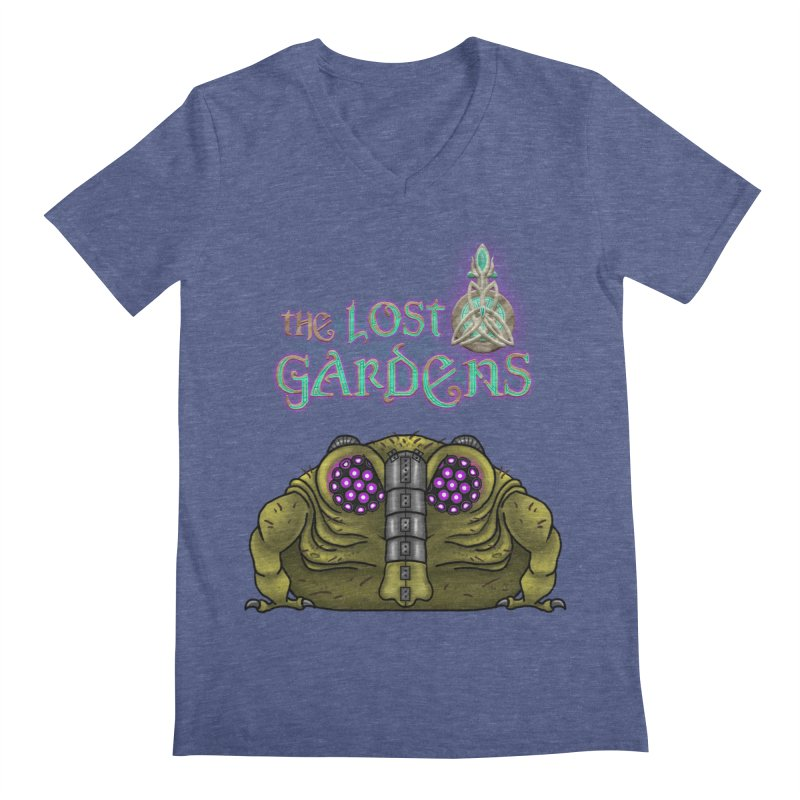 Bernard Men's V-Neck by The Lost Gardens Official Merch