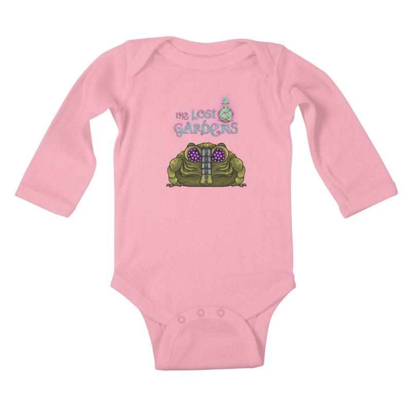 Bernard Kids Baby Longsleeve Bodysuit by The Lost Gardens Official Merch
