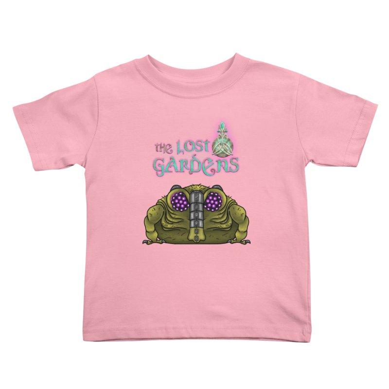 Bernard Kids Toddler T-Shirt by The Lost Gardens Official Merch