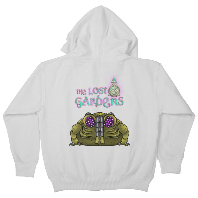 Bernard Kids Zip-Up Hoody by The Lost Gardens Official Merch