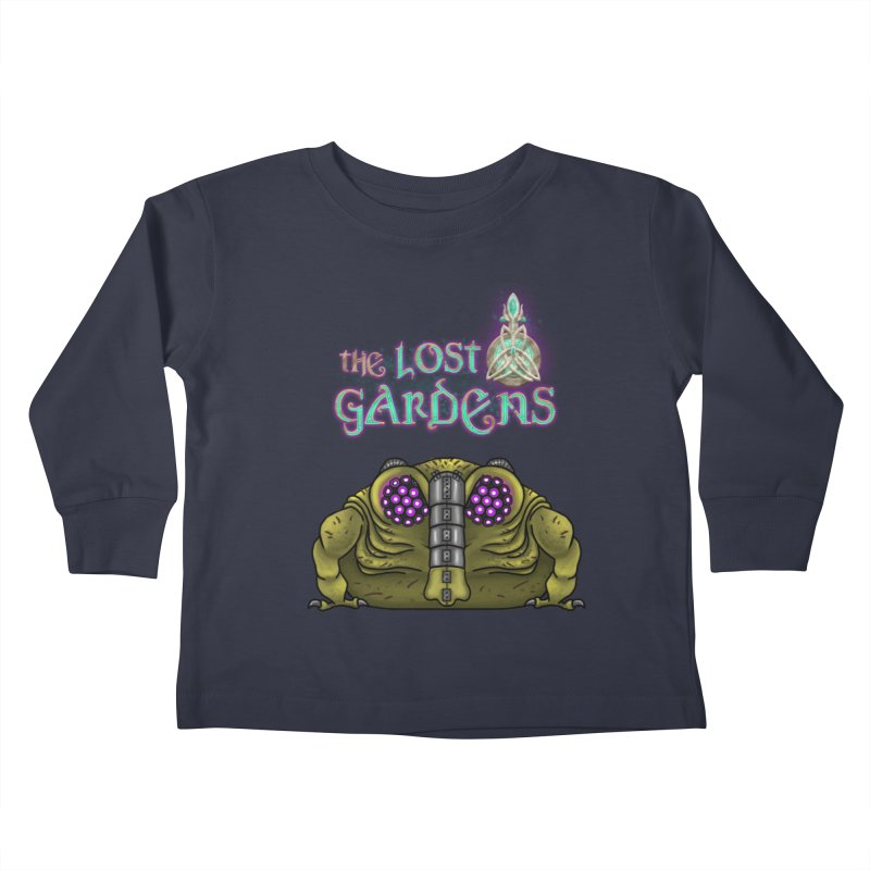 Bernard Kids Toddler Longsleeve T-Shirt by The Lost Gardens Official Merch