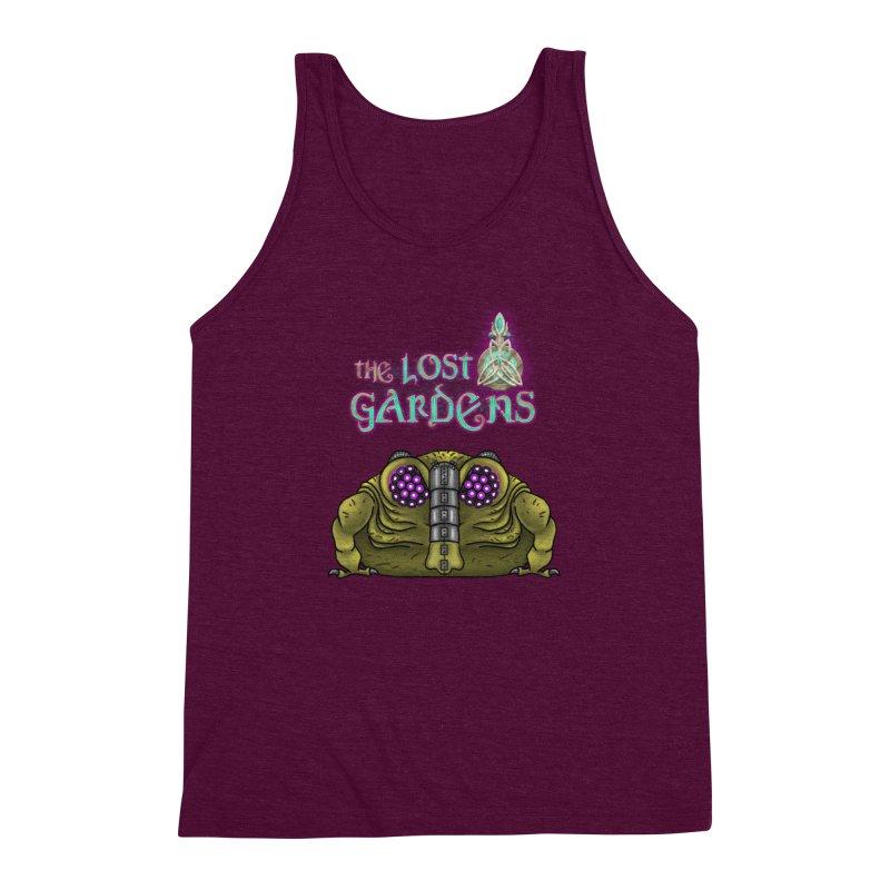 Bernard Men's Triblend Tank by The Lost Gardens Official Merch
