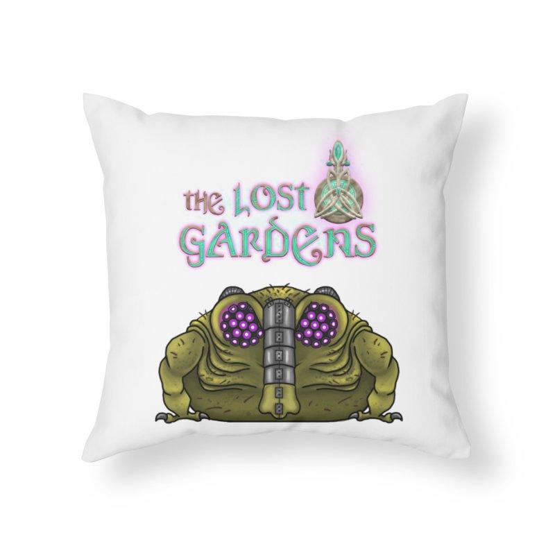 Bernard Home Throw Pillow by The Lost Gardens Official Merch