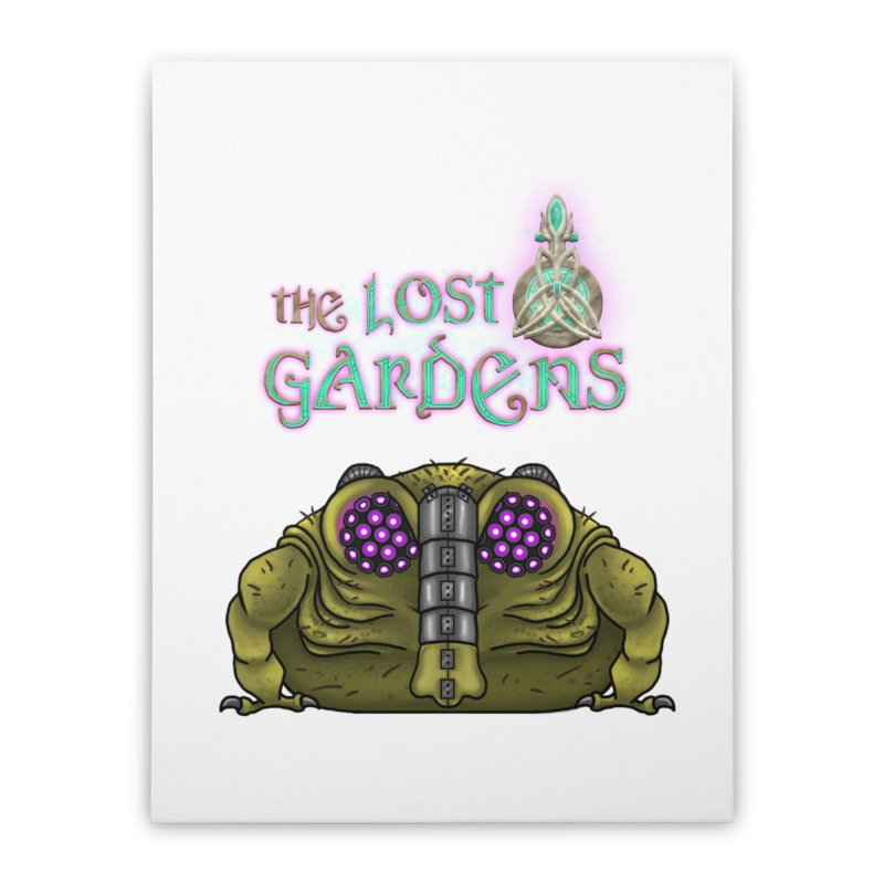 Bernard Home Stretched Canvas by The Lost Gardens Official Merch