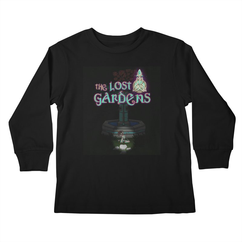 Awaken Him Kids Longsleeve T-Shirt by The Lost Gardens Official Merch