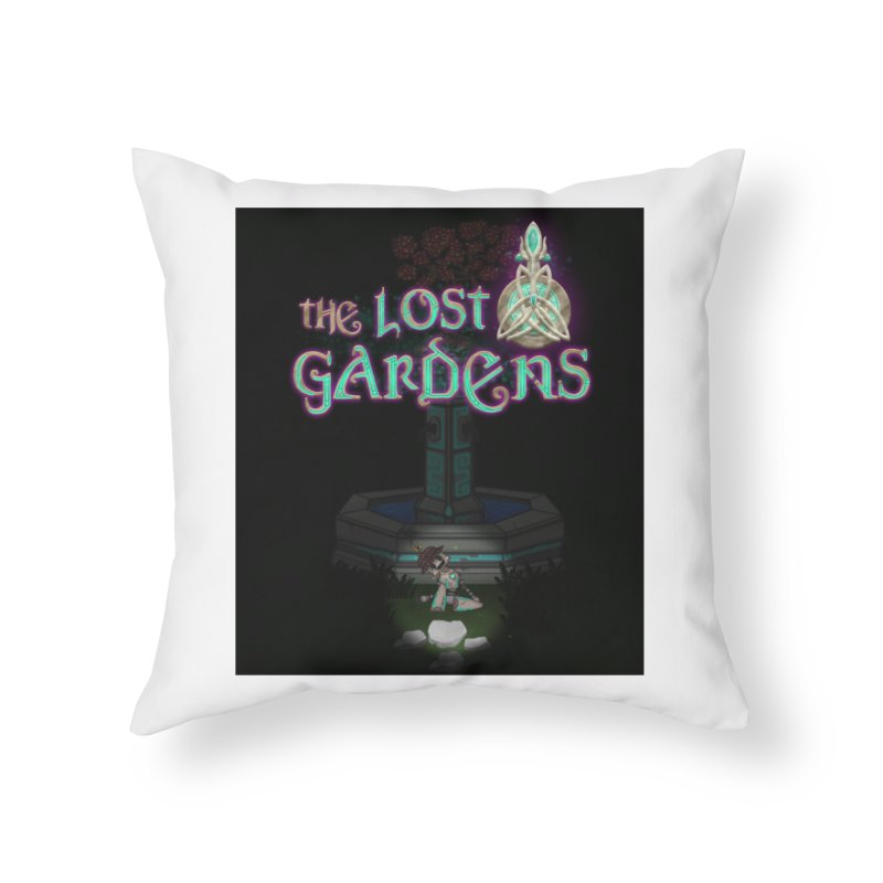 Awaken Him Home Throw Pillow by The Lost Gardens Official Merch