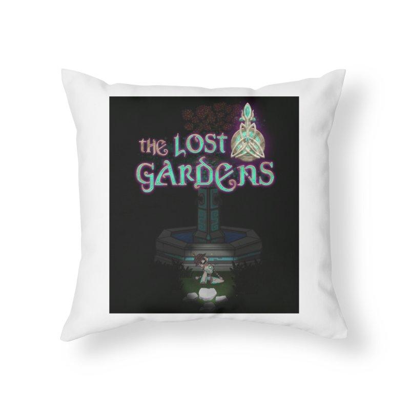Awaken Him Home Throw Pillow by The Lost Gardens Official Merch
