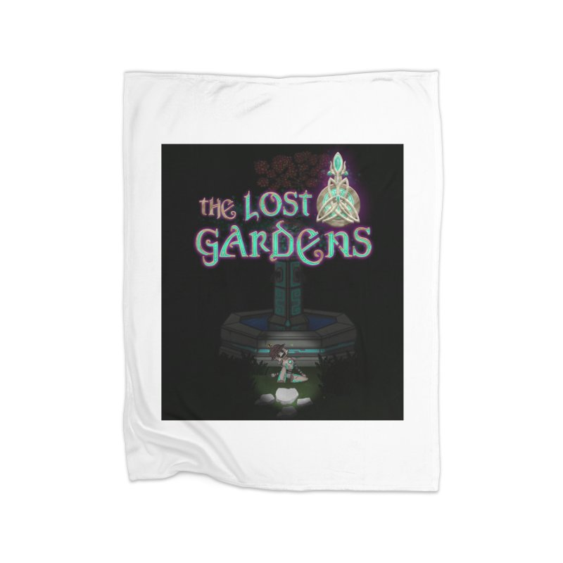 Awaken Him Home Fleece Blanket Blanket by The Lost Gardens Official Merch