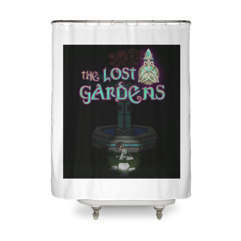 Awaken Him Home Shower Curtain by The Lost Gardens Official Merch