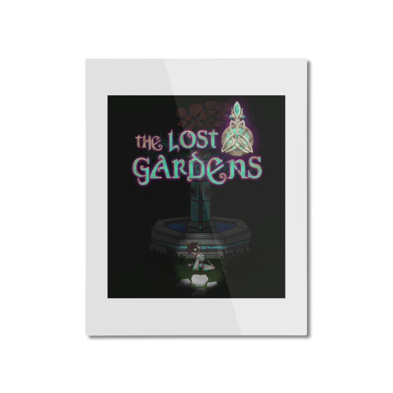 Awaken Him Home Mounted Aluminum Print by The Lost Gardens Official Merch